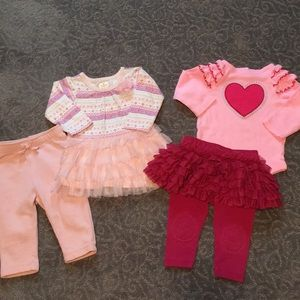 Pretty In Pink 6-12 Months Bundle
